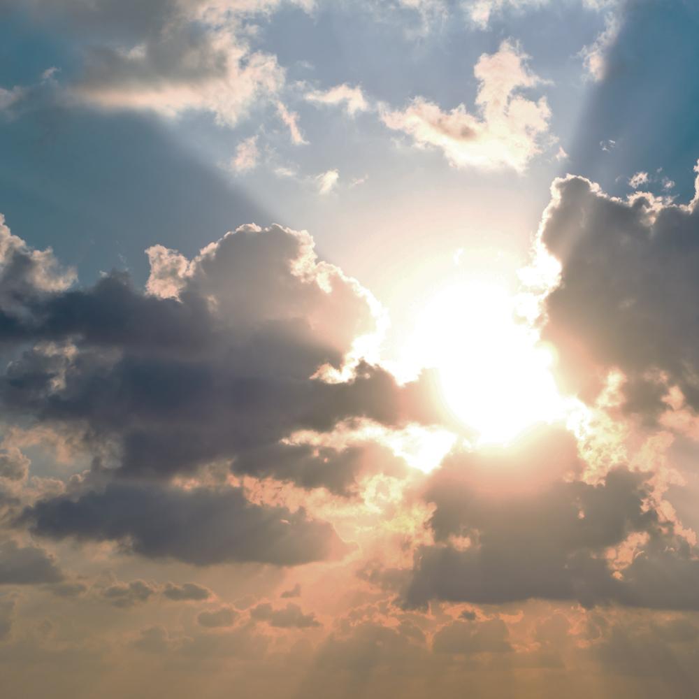Sun-clouds