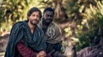 "Photo from the episode ""The Spirit Arrives"" (Adam Levy as Peter and Babou Alieu Ceesay as John)"