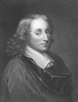 Blaise Pascal (1623-1662) on engraving from the 1800s.